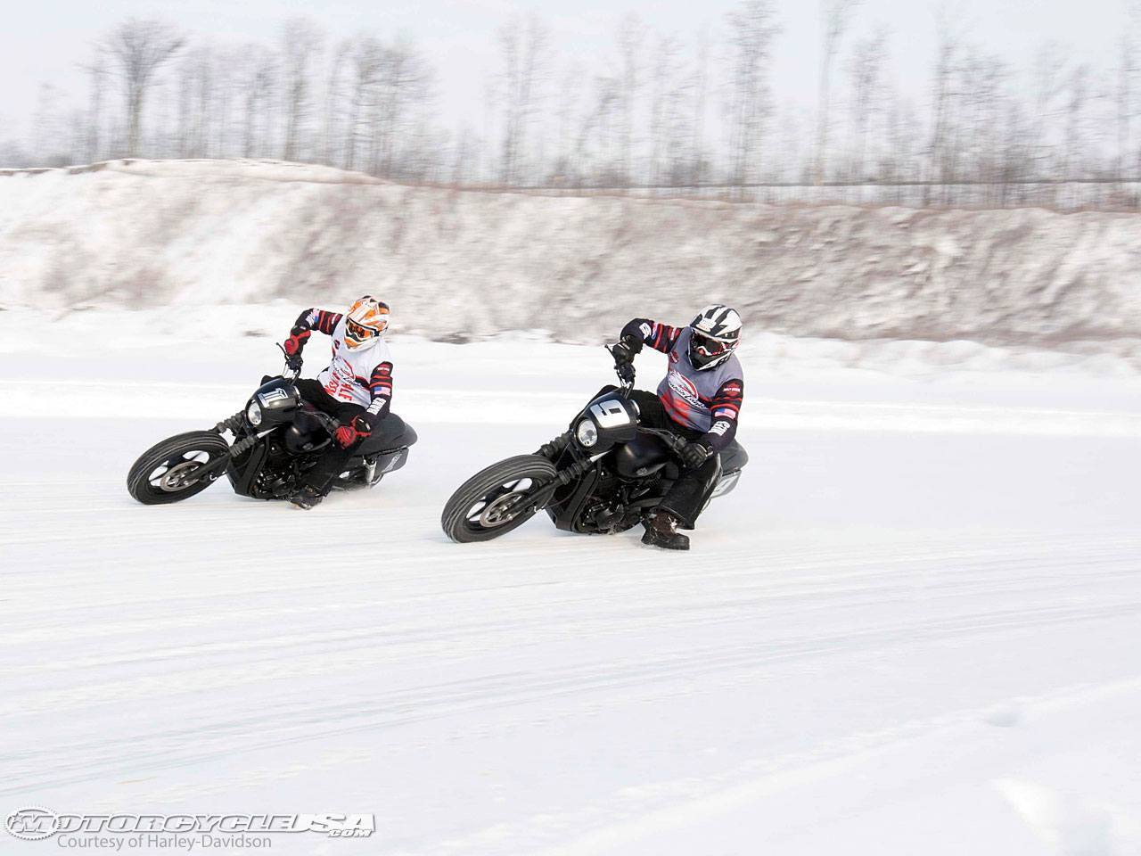 Photo of Harley® Street 750 Debuts Ice Races at X Games